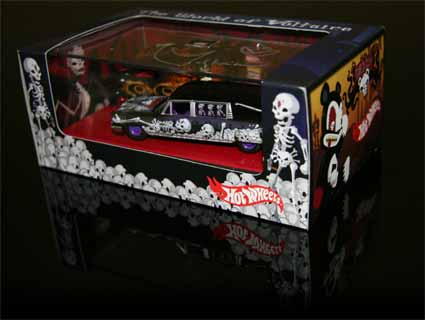 Voltaire DEady and ChiChan Hot Wheels Collectors Car!